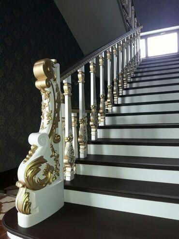 Лестницы на заказ из массива. Качества и срок изготовления гарантирова