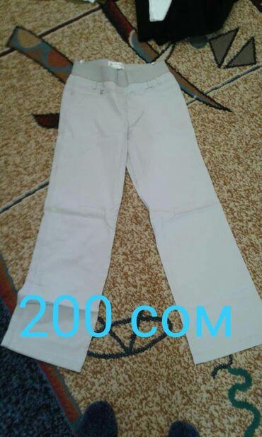 Джинсы и шорты 52 размера, белые брюки и кашемировые галифе 48 размера