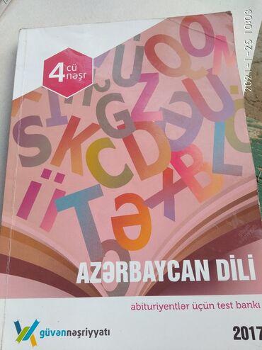 Спорт и хобби - Говсаны: Azərbaycan dili üzrə hazırlanmış test vəsaiti. 4 cü nəşr . 2017 il