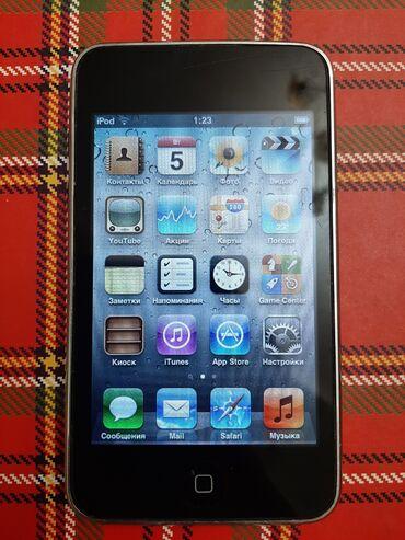 ipod touch 4g в Кыргызстан: Ipod touch 3, 32ГБ, внутри есть 600 современных, молодёжных песен