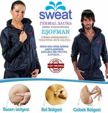 Bakı şəhərində Sweat sauna esofman