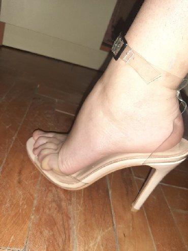 Ženska obuća   Vrbas: Nove providne sandale. 40 broj