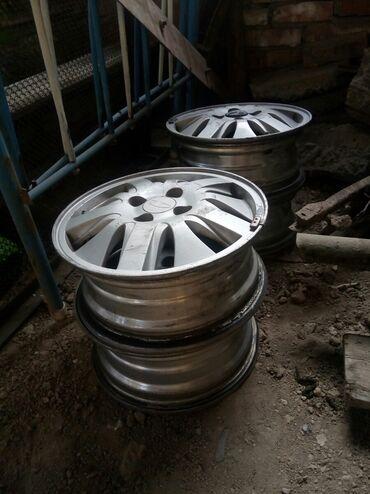 куплю диски на 14 в Кыргызстан: Продам диски комплект от Daewoo Nubira 2. Размер 14. Чуть чуть
