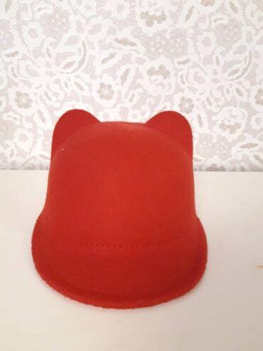 Шляпа с ушками для детей от 1,5 до 3 лет ткань: кашемир