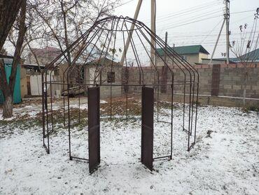 0225 какой оператор в Кыргызстан: Продаю сборную юрту из металлического каркаса и белым тканевым покрыти