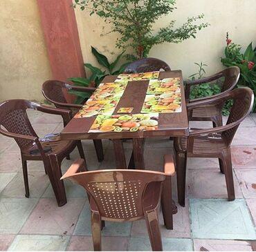 restoranlar - Azərbaycan: Masalar və oturacaqlar.  En ucuz bizde!!!  bir basa zavoddan  ✔Plasti