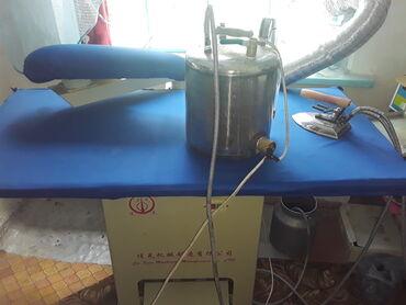 Швейные машины - Сокулук: Продаю швейное оборудование!Промыгленный утюг 15000 сом.Майман (новый
