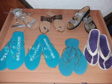 RASPRODAJA! Papuče,japanke i sandale nove i polovne iz Svajcarske - Vrnjacka Banja