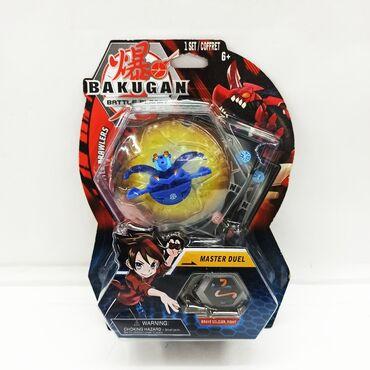 Бакуган синий.Увлекательная коллективная игрушка для мальчиков!! В