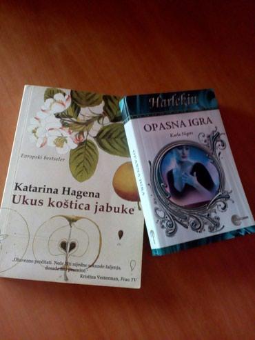 Knjige nove obe za 800 din. Pojedinacno manja je 300 din. Roman - Novi Pazar