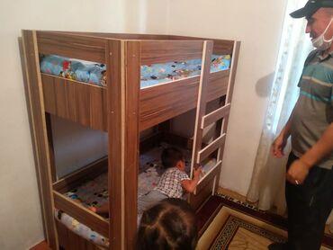 dvuhjarusnaja-krovat-dlja-detej-i в Кыргызстан: Кровать детиски матрасыменен