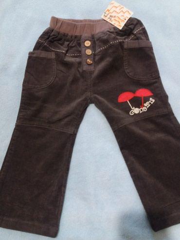 Продаю новые вельветовые штаники на в Кок-Ой