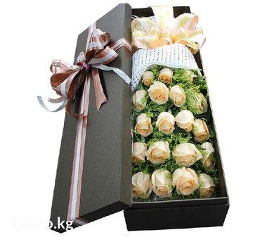 Розы в длинных коробках. в Бишкек