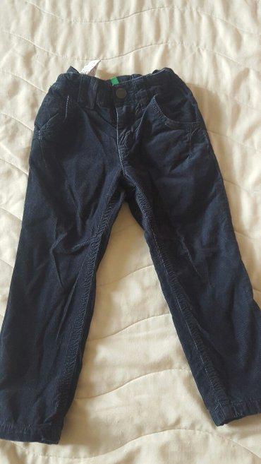 BENETON farmerice-pantalone postavljene, kao nove, od 18 do 24 mesec,  - Nis