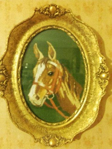 Goblen,konj,dimenzija 35×25 - Kikinda