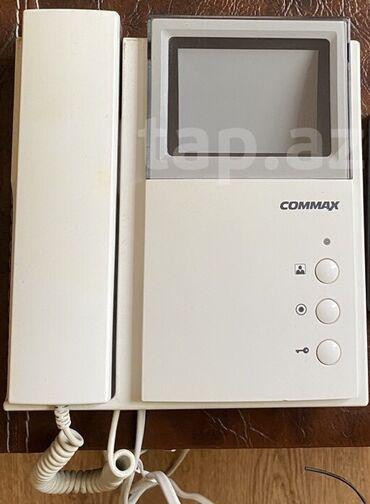 Elektrik malları - Azərbaycan: Domofon. Commax. Yalniz monitoru satilir. Ela ve islek veziyyetde