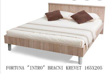 Kuća i bašta - Velika Plana: Bracni krevet Francuski lezaj Matis 165x205 star godinu dana sa