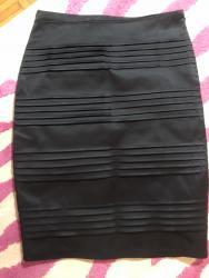 Duzina cm crni - Srbija: Crna satenska suknja . pise da je velicina L. ovo su mere : poluobim
