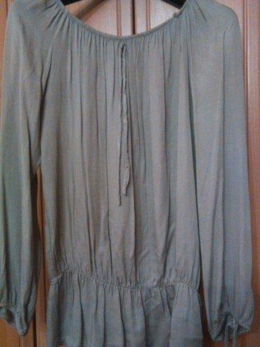 Nova bluza dugih rukava, viskoza, maslin zelene boje, vrlo kvalitetna, - Beograd