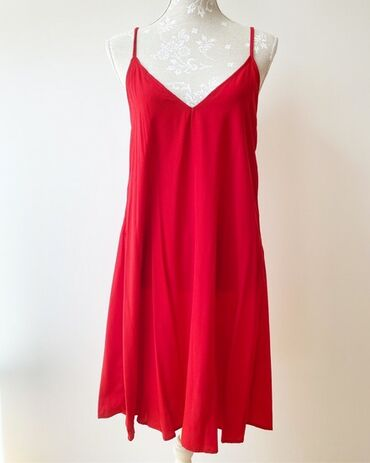 Haljine | Bor: Zara crvena haljina, m