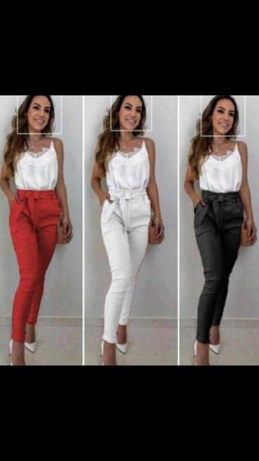 Pantalone-boja - Srbija: ×NOVO u vise boja pantalone s m l xl