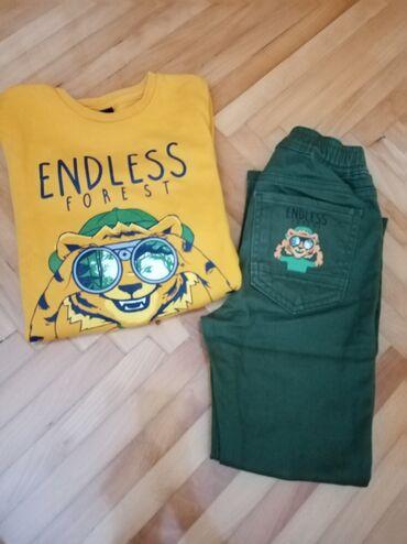 Dečija odeća i obuća - Prijepolje: Pantalone i duks waikiki. Prelep kompletic