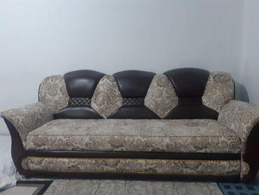 dva divan kresla в Кыргызстан: Продается 4ка диваны и 2креслогод пользовались,в хорошем состоянии,с