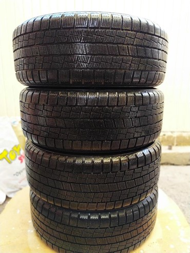 шины 215 55 17 в Кыргызстан: Диски с Резиной!!!   Диски: R17*7JJ JAPAN! не битые, не варенные, ун