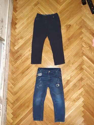 Tanke farmerice - Srbija: Tanje farmerice sa elastinom i pantalone velicina 92-98,za dete 2-3