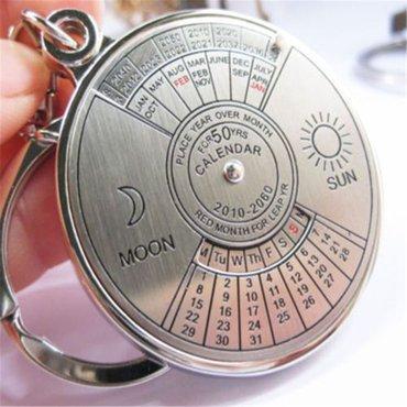 Privezak za ključeve - kalendar do 2060. Godine - Zrenjanin
