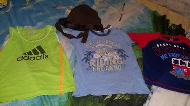 Майка, 2 футболки и бандана на 1.5-2 года за 120 сом все вместе