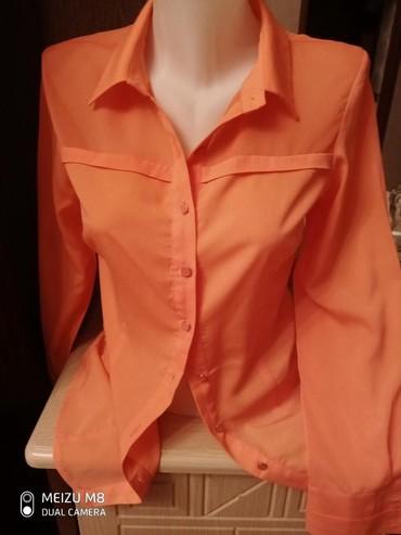 женские рубашки в клетку в Азербайджан: Рубашка 38 размер котон фирма