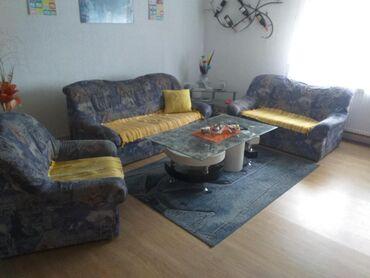Kuća i bašta - Novi Becej: Na prodaju trosed,dvosed i fotelja . Ocuvano