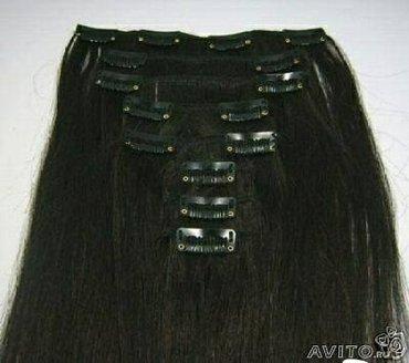 Волосы на заколках . натуральные волосы . большой ассортимент волос дл в Бишкек