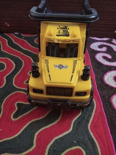 Детский мир - Лебединовка: Детская машинка, грузовик. Очень крепкий, выдерживает нагрузку до 35