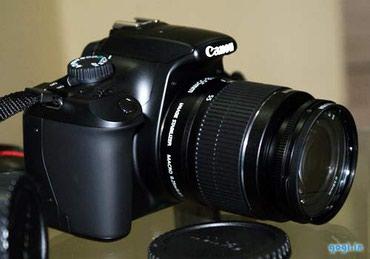 Bakı şəhərində Canon 1100D xanim isledir