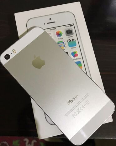 IPhone 5s | 16 GB | Ağ | İşlənmiş | Barmaq izi, Sənədlərlə