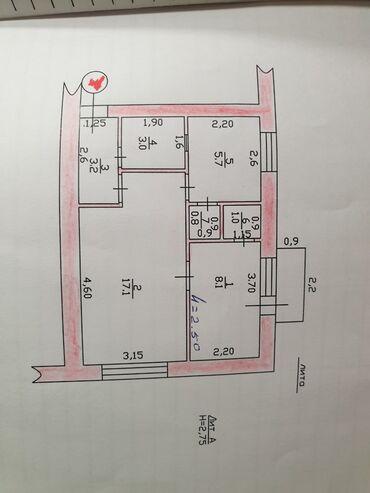 toktogulskij med в Кыргызстан: Продается квартира: 2 комнаты, 42 кв. м
