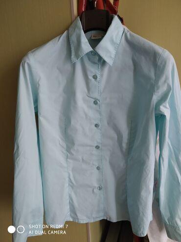 женские вельветовые юбки в Азербайджан: Рубашка женская ETAM цвет бирюзовый