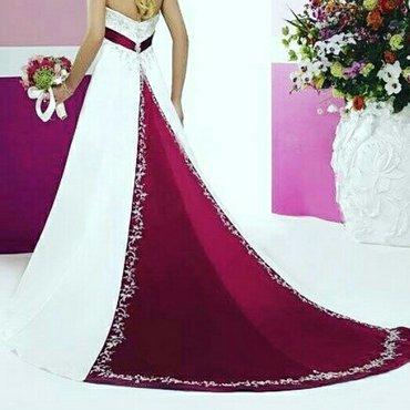 Шикарное свадебное платье на рост до в Лебединовка