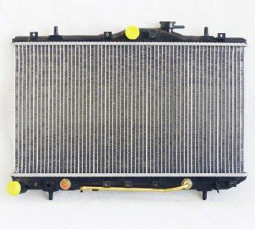 черный hyundai в Кыргызстан: Hyundai Accent. Радиатор охлаждения двигателя основной