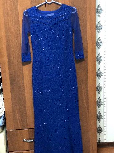 вечерние платье в пол в Кыргызстан: Шикарное турецкое вечернее платье в пол размер S,отдаю за пол цены