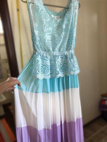 холодильник ош цена in Кыргызстан | ХОЛОДИЛЬНИКИ: Продаётся лёгкое платье.  Размер: S  Турецкое производство