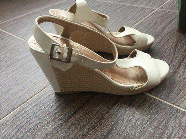 Sandale kožne udobne kao nove bez oštećenja br 40 - Novi Pazar
