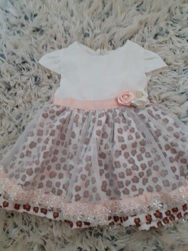 Prelepa svecana haljina za devojcicu 12 meseci