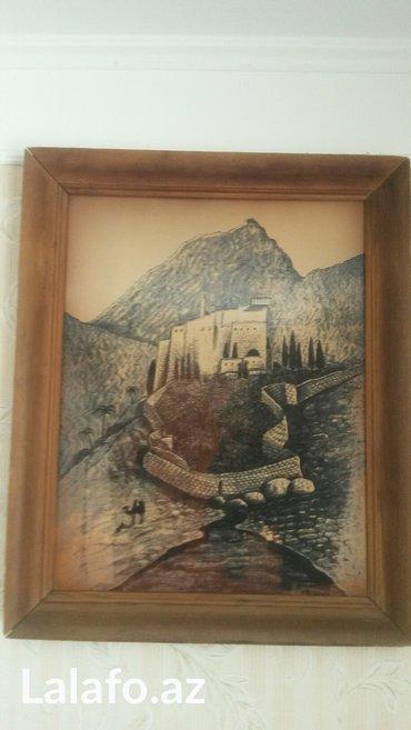 Bakı şəhərində Qedimi antik resim 100 il yawi var satilir yada vapsap olan telifonla