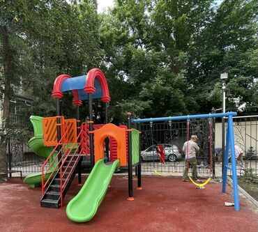 885 объявлений: Современная и яркая детская площадка!  Мы разрабатываем индивидуальный
