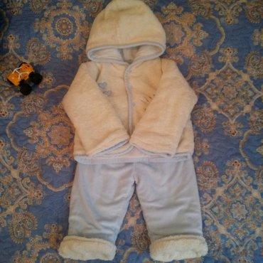 утепленный костюмчик примерно на 9 месяцев  в Бишкек