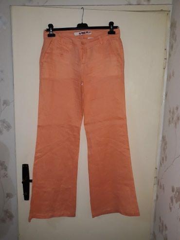Lanene pantalone,struk 41 cm,duz.105 cm - Smederevo