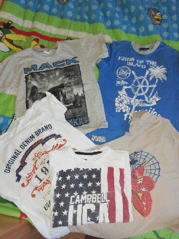 Dečija odeća i obuća - Varvarin: Veliki paket za decaka 8godine duksevi majce prsluk